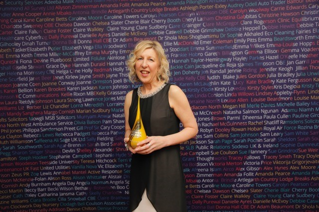And the Winner of the Northern Power Women Award is… Denise Chilton!