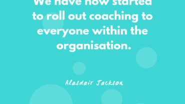 Alasdair Jackson – Executive Coaching Case Study