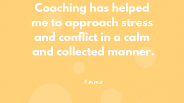 Emma – Executive Coaching Case Study