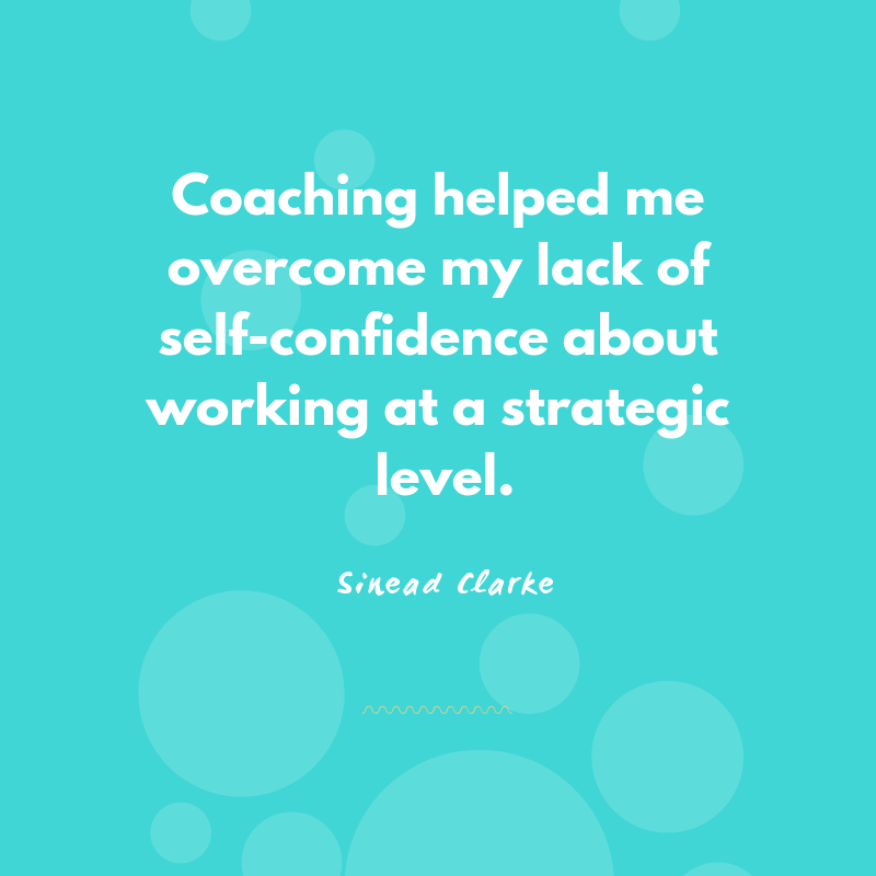 Executive coaching testimonial