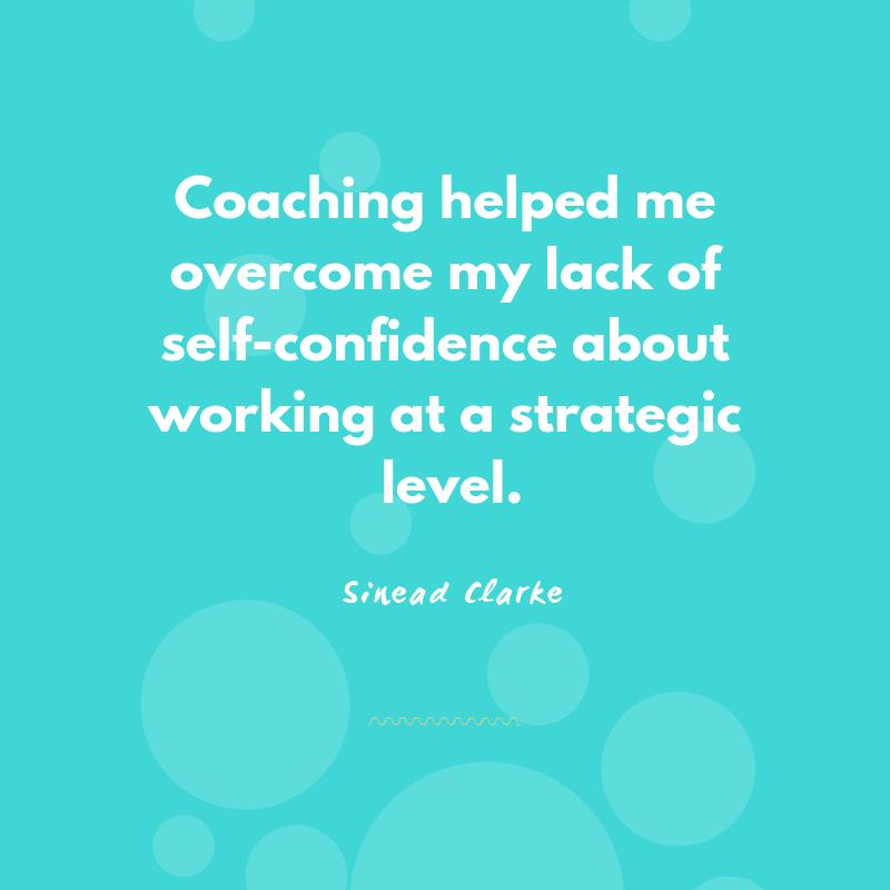 Executive coaching testimonial